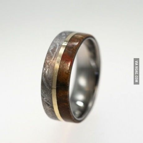 gold meteor dinosaur ring oooh shiny pinterest With chris hardwick wedding ring