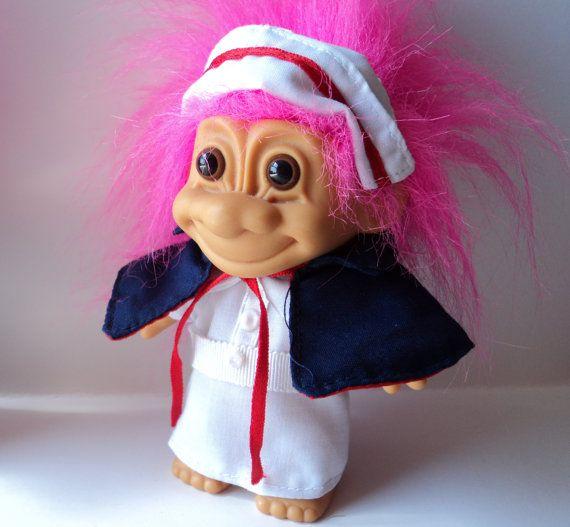 1990s Troll Dolls Troll nurse doll toys figure
