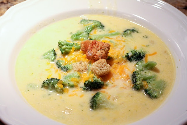 Broccoli Cheese Soup | Yummy :) | Pinterest