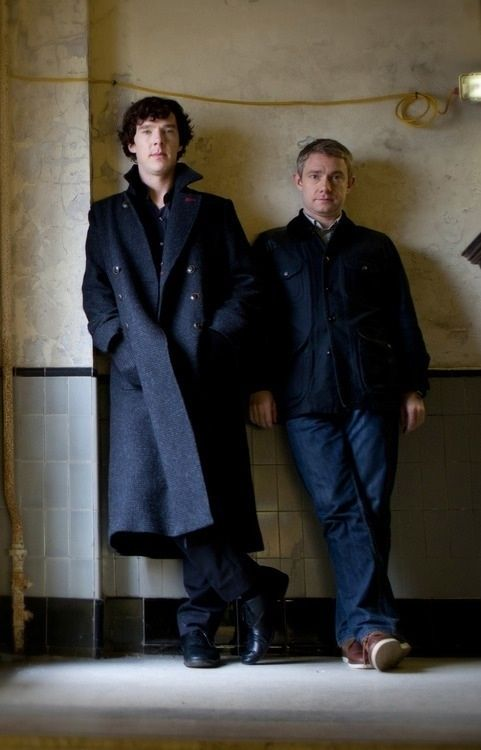 Sherlock and John..