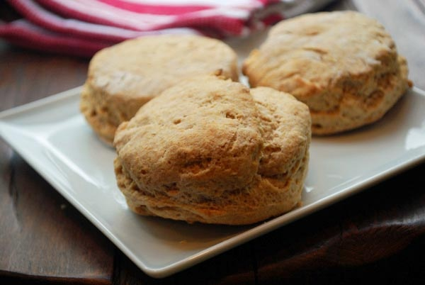 Flaky Whole Wheat Buttermilk Biscuits Recipe — Dishmaps