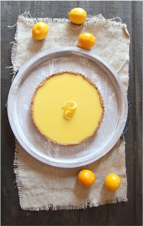 ... Italian Dish - Posts - Suzanne Goin's Meyer Lemon Tart with Chocolate
