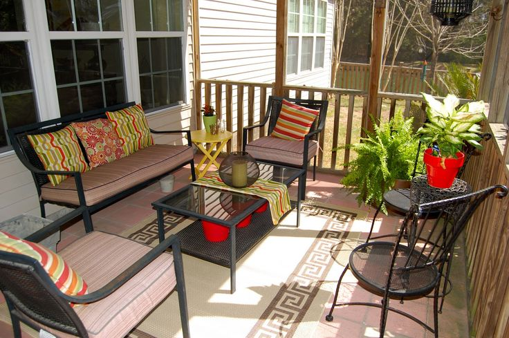 Screened in porch decorating ideas porches pinterest for Screened in porch decor