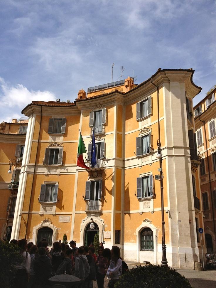 A Beautiful Roman Palazzo Architecture Pinterest