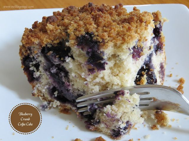 Blueberry Crumb Coffee Cake | Food | Pinterest