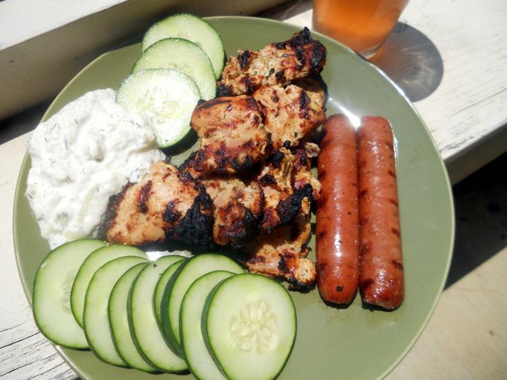 Greek yogurt marinated chicken | Gluten free | Pinterest
