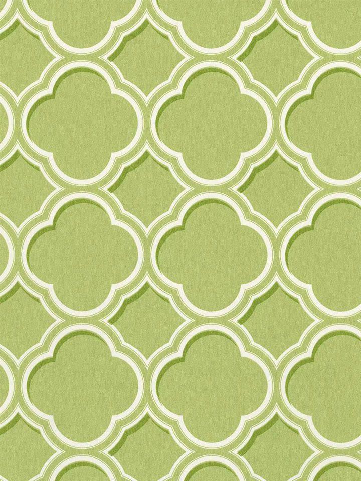 Olive Sh80004 Geometric Trellis Wallpaper