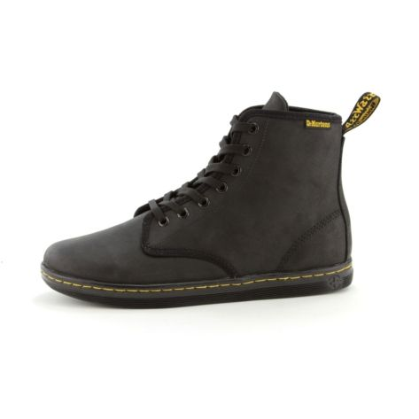 womens dr martens eclectic boot black leather