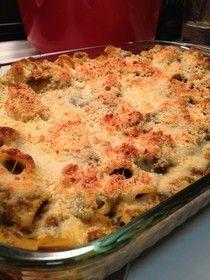 Spinach & Sausage Baked Pasta | Italian | Pinterest