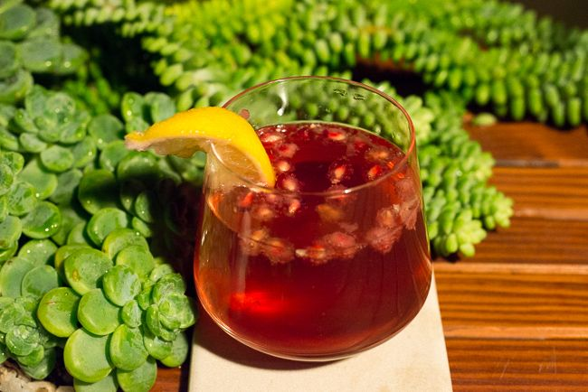 Pomegranate-soda | Drinks | Pinterest