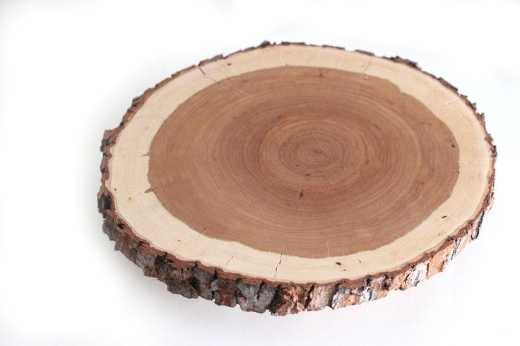 DIY wood slice cake stand. | Do It Yourself / Crafting. | Pinterest