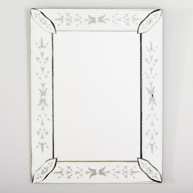Miroir v nitien la redoute bathrooms pinterest for Miroir 40 x 80