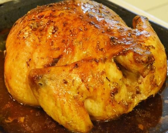 Lemon and Rosemary Roasted Chicken
