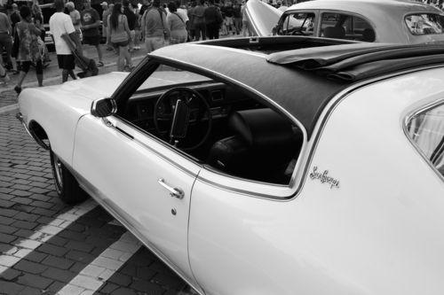 1972 Buick Skylark 350 Sun Coupe.