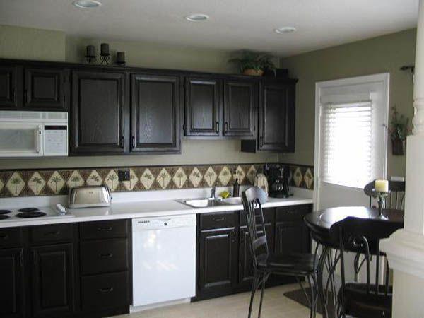 diy black kitchen cabinets kitchens pinterest
