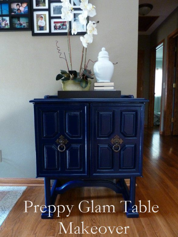 Diy table makeover how to spray paint furniture How to spray paint wood furniture