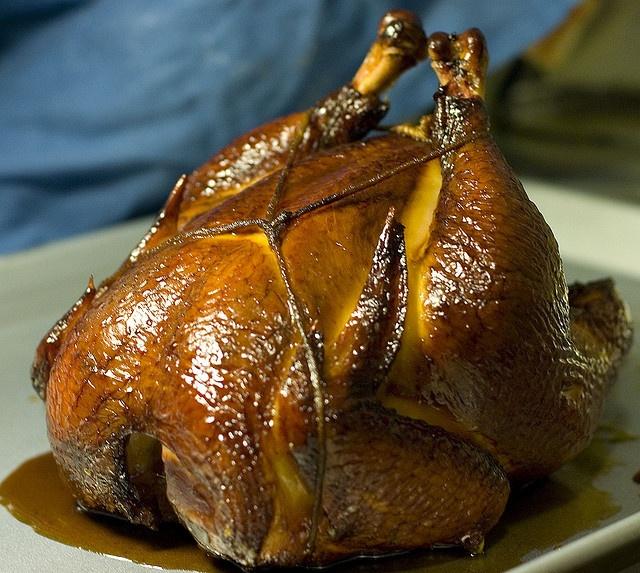Whiskey-Glazed Smoked Chicken Recipe — Dishmaps