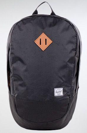 HERSCHEL SUPPLY The Crown Backpack in Black Ripstop : MissKL.com