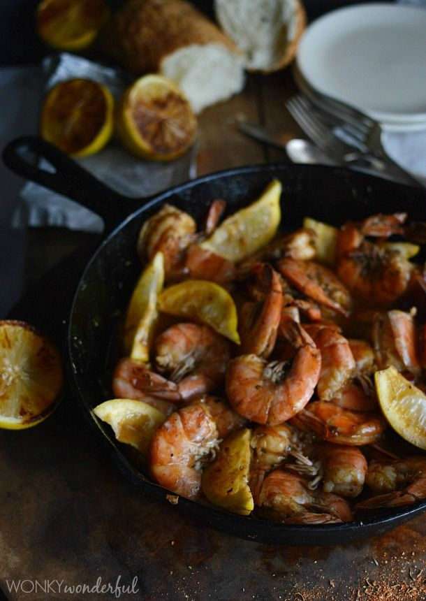 New Orleans Barbecue Shrimp Recipe - Barbeque Bbq - cajun shrimp ...