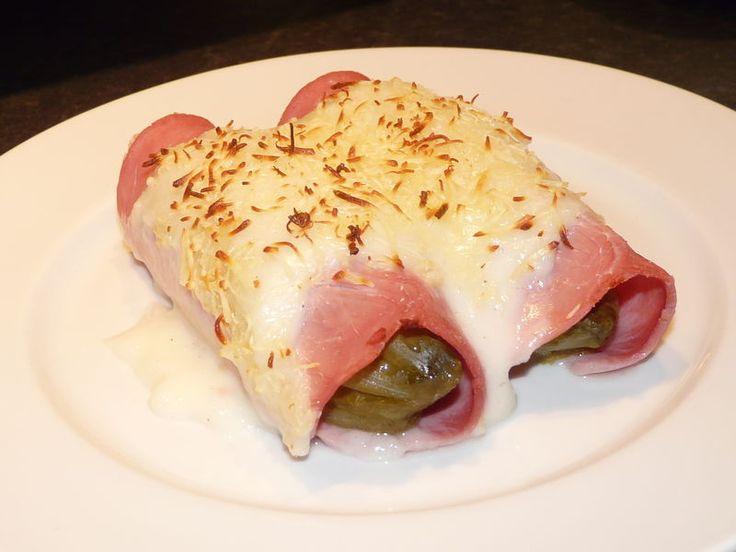 Endive au jambon french food pinterest - Recette endives au jambon ...