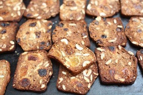 Homemade Fruit & Nut Crisps | Recipes | Pinterest