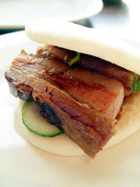 pork belly steamed buns @ momofuku | Yummy Yum Yum | Pinterest
