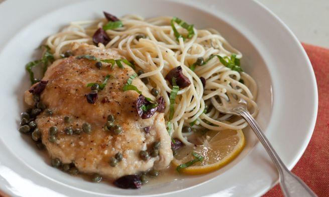 Chicken Scaloppine   This looks yummy   Pinterest