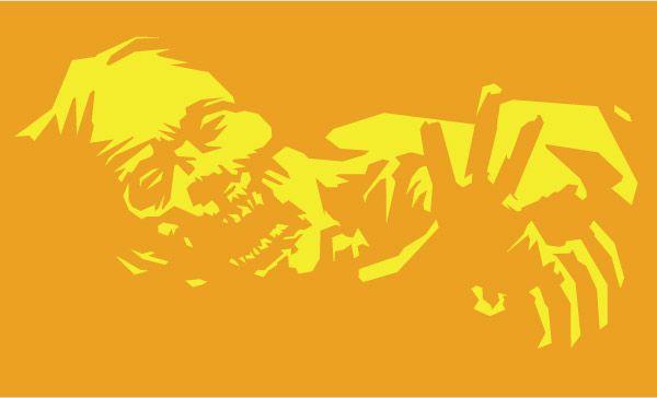Walking Dead Pumpkin Stencil