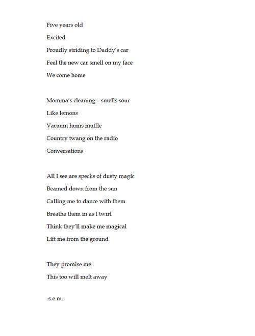 thumbprint eve merriam poem   just b.CAUSE