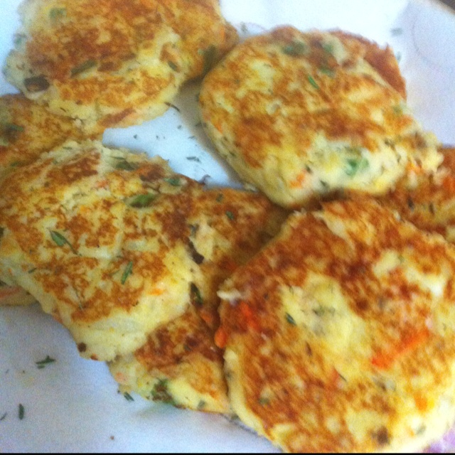 Potato Pancake With Cheese And Bacon Recipe — Dishmaps