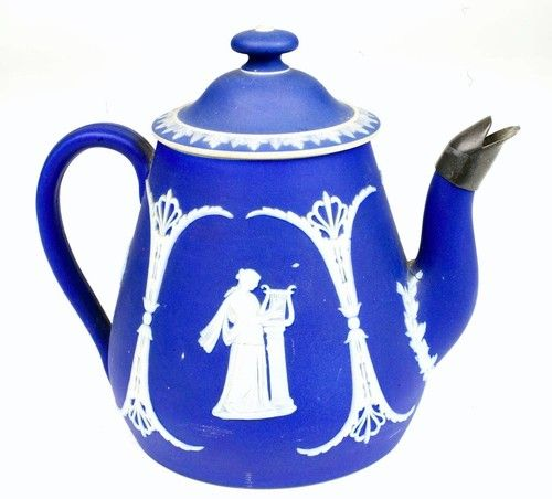Wedgwood jasperware beautiful c 1880s antique cobalt blue Wedgewood designs
