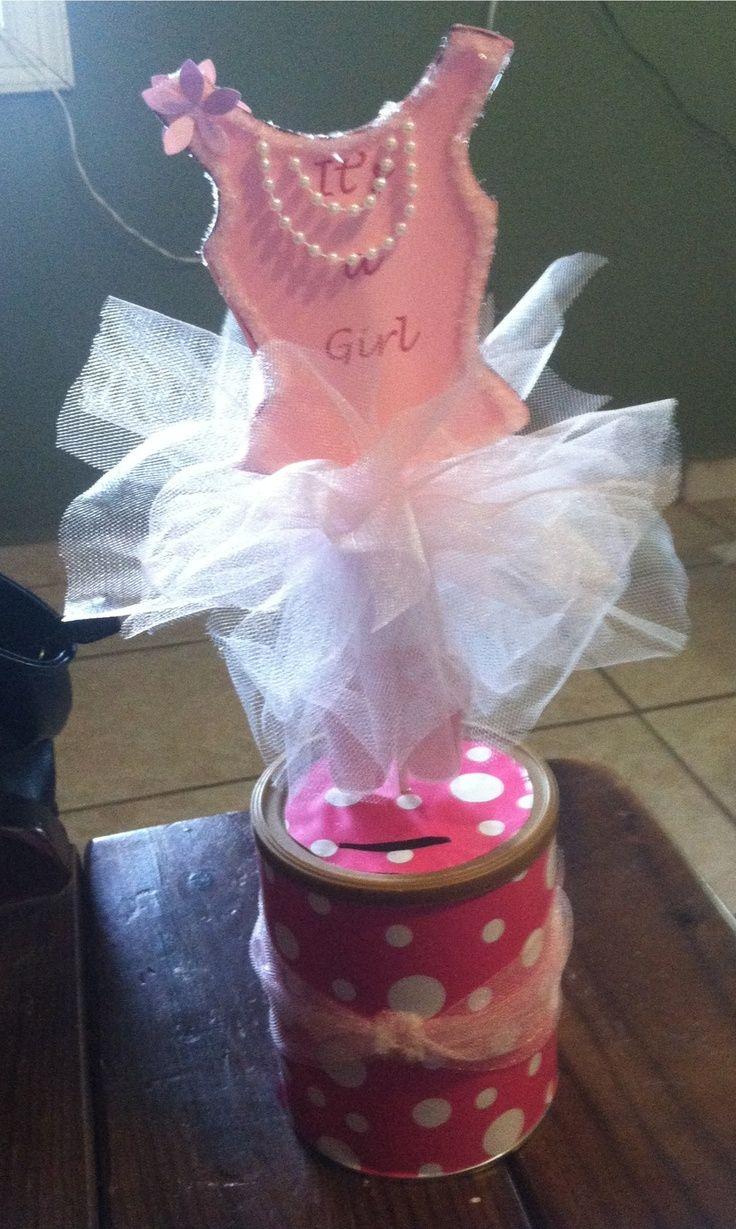 ballerina tutu centerpiece baby shower gifts ideas pinterest