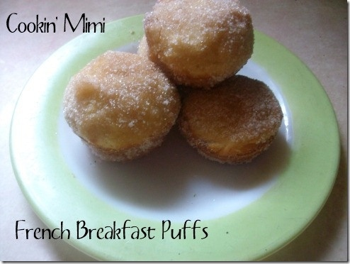 French Breakfast Puffs | recipes / delicious food | Pinterest