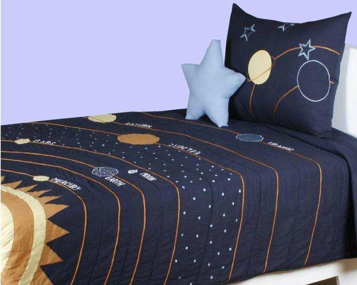 Solar system bedding set - Solar system comforter set ...