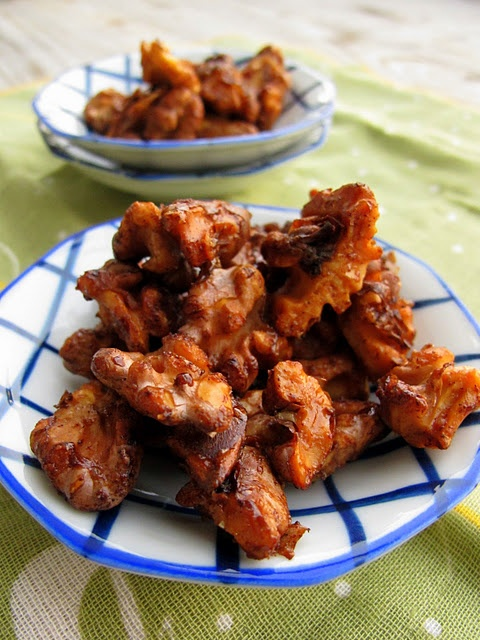 Maple Candied Walnuts | Food and Fun | Pinterest