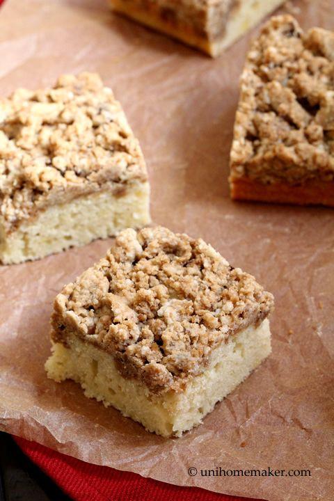 New York-Style Crumb Cake   Brownies, Blondies, Brookies & Bars   Pin ...