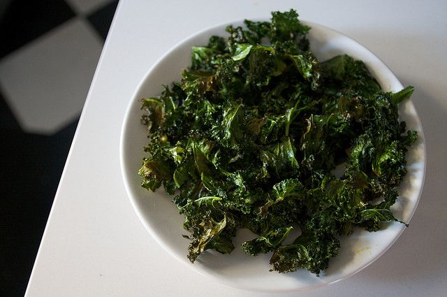 Baked Kale Chips | Now You're Cooking! | Pinterest