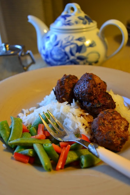scallion meatballs with soy ginger glaze melissa hamilton and ...