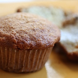 Roasted banana muffins by foodgal | Breakfast-y | Pinterest