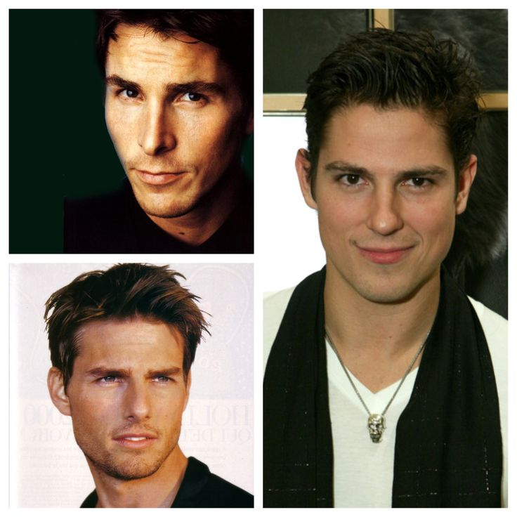 Christian Bale  Tom Cruise  Sean HardyYoung Tom Cruise Look Alike