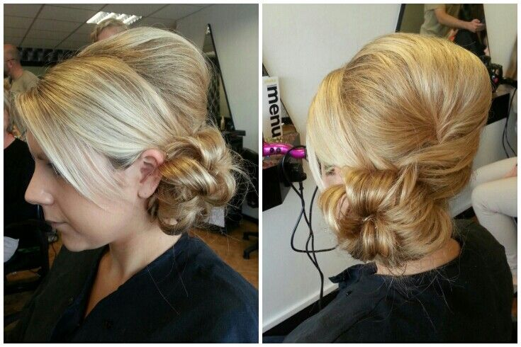 Hair And Makeup For A Wedding Guest : Wedding guest #hairup #bun Wedding hair and makeup ...