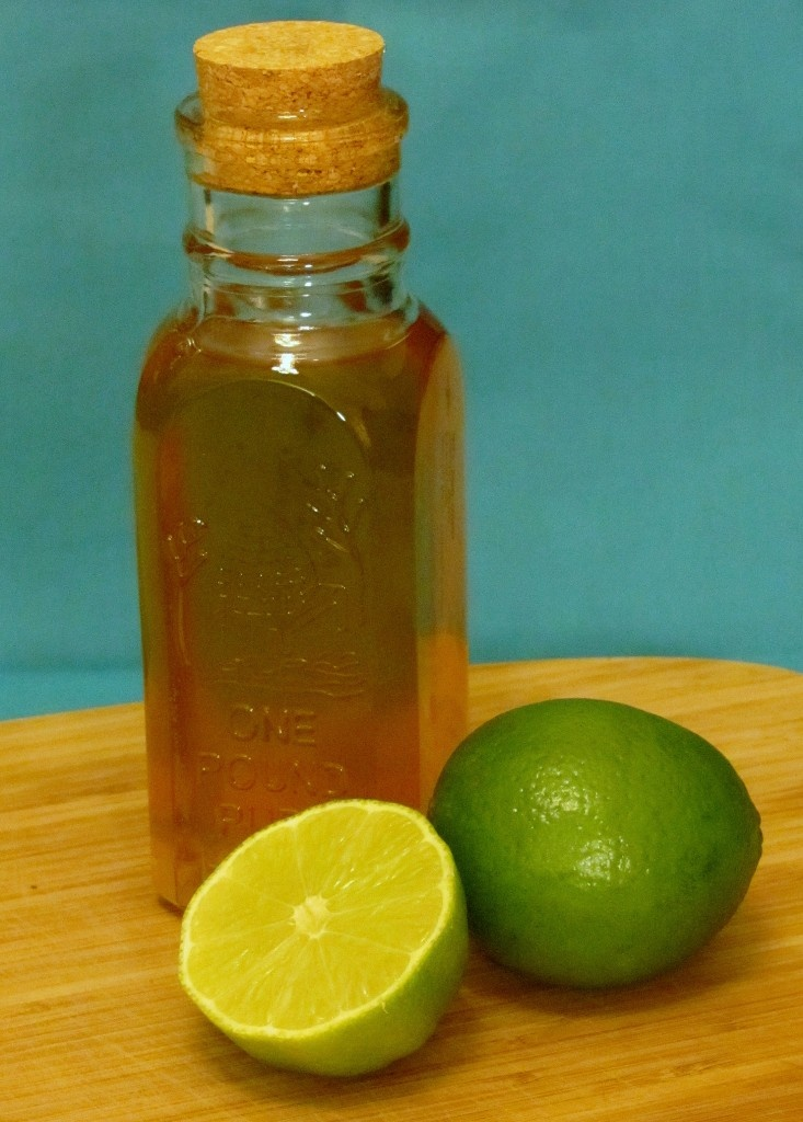 Honey-Lime Fruit Salad Dressing - oh my goodness. This is just ...