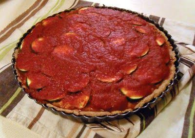 Lasagna Tart » VeggieGirl | Main Meals | Pinterest
