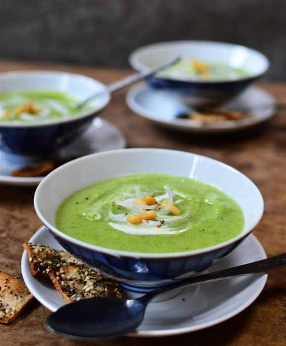 Leek Soup with Added Greens - Yum! | Soups Soups and More Soups | Pin ...