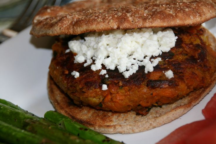 Curried Sweet Potato Chickpea Burgers | Hostess with the Mostest | Pi ...