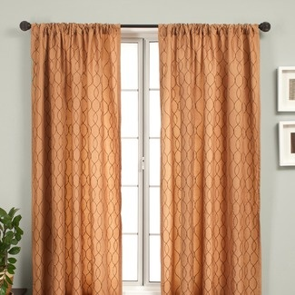 rust curtains what if pinterest