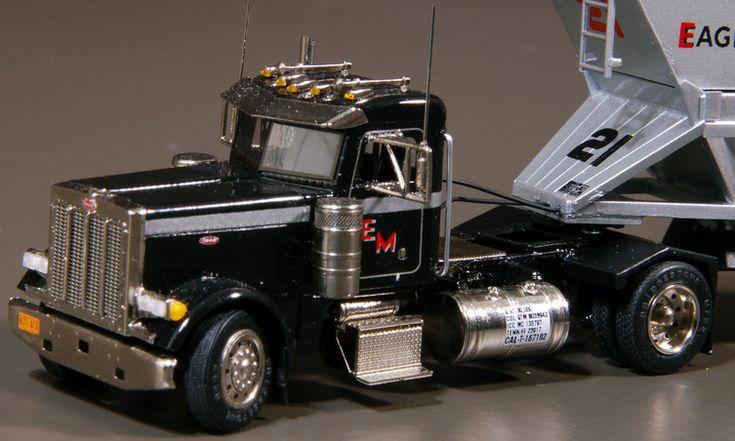Single Axle Semi Tractors : Single axle peterbilt truck tractor impressive scale