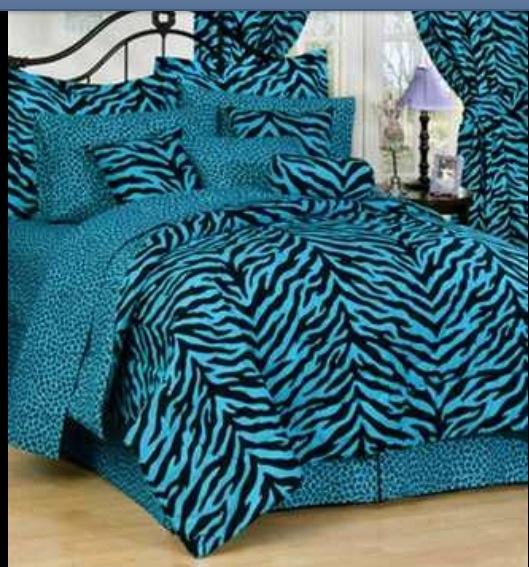 Blue zebra bedding queen myideasbedroom com