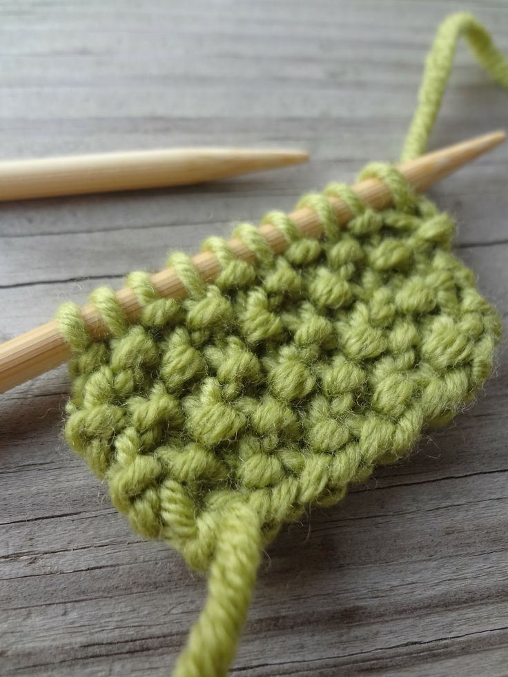 Seed Stitch Knitting By Judy : How to knit seed stitch (photo tutorial) TricO - Knitting Pintere?