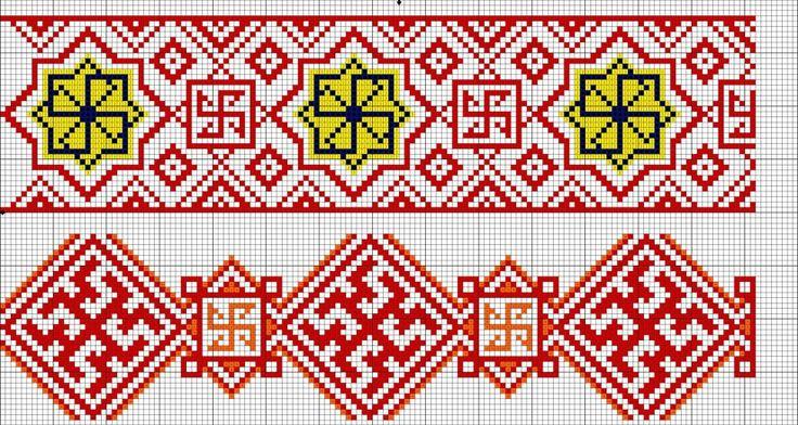 Славянская вышивка символ 72
